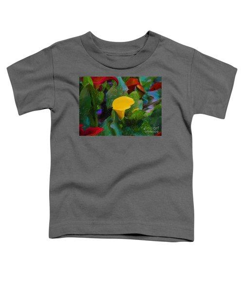 The Flowers In Juarez Park Toddler T-Shirt