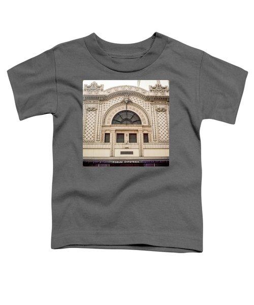 The Forum Cafeteria Facade Toddler T-Shirt