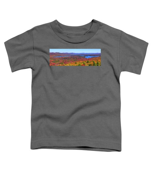 The Fulton Chain Of Lakes Toddler T-Shirt