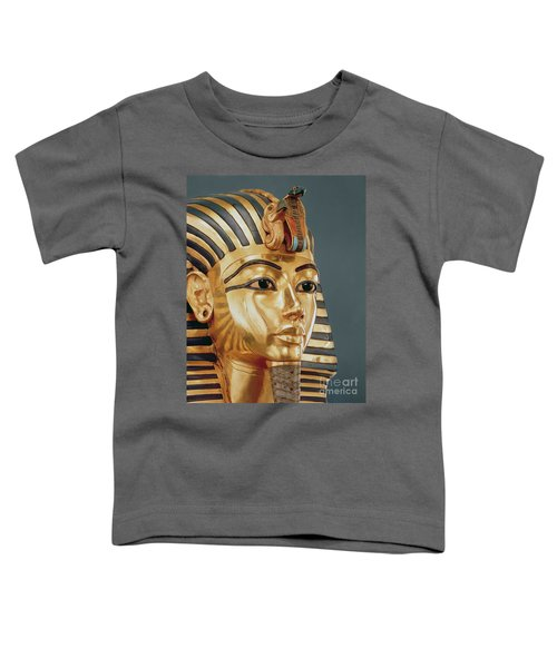 The Funerary Mask Of Tutankhamun Toddler T-Shirt