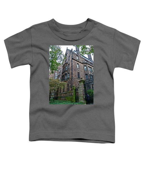 The Gates Of Yale Toddler T-Shirt