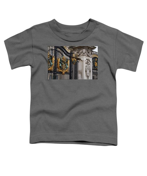 The Gilded Gate Toddler T-Shirt by Andre Phillips