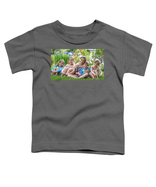 The Grand Kids In The Garden Toddler T-Shirt