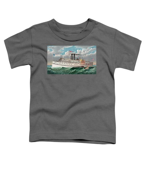 The Grand New Steamboat Pilgrim Toddler T-Shirt