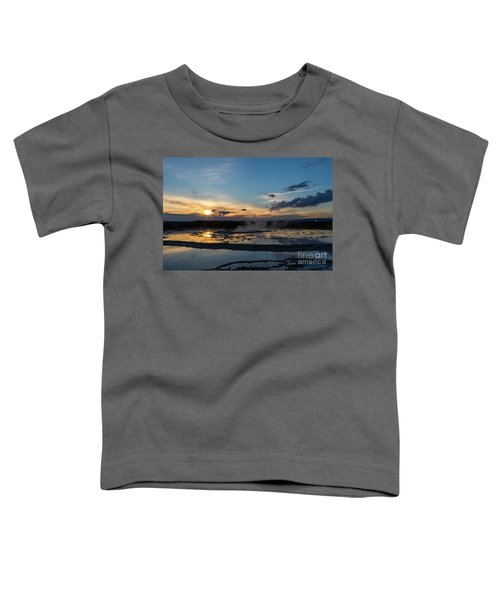 The Great Fountain Geyser Toddler T-Shirt