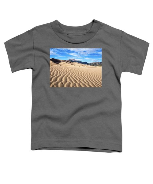 The Great Sand Dunes Of Colorado Toddler T-Shirt