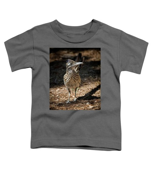 The Greater Roadrunner Walk  Toddler T-Shirt by Saija Lehtonen