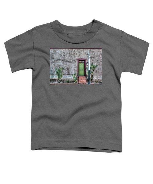 The Green Door Toddler T-Shirt by Lynn Geoffroy