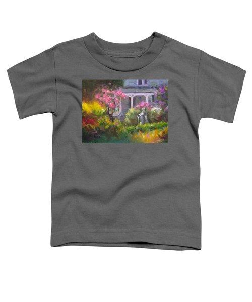 The Guardian - Plein Air Lilac Garden Toddler T-Shirt
