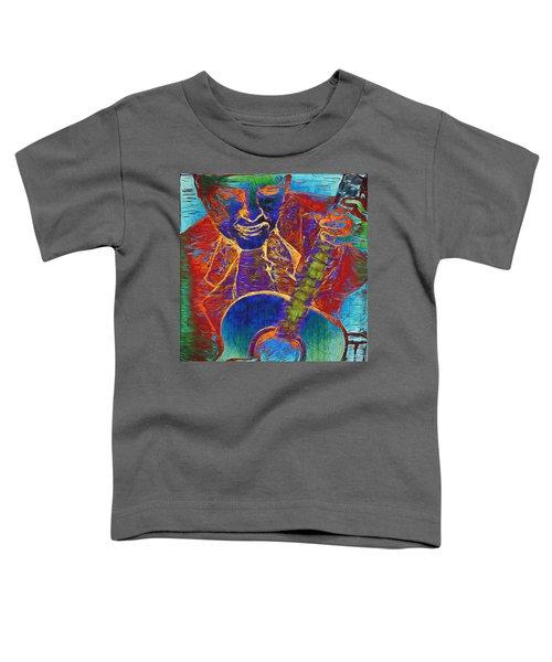 The Guitar Man - Two Toddler T-Shirt