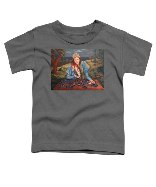 The Gypsy Fortune Teller Toddler T-Shirt