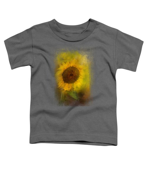 The Happiest Flower Toddler T-Shirt by Jai Johnson