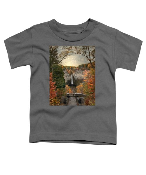 The Heart Of Taughannock Toddler T-Shirt