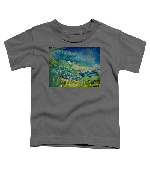 The Heavens And The Eart Toddler T-Shirt