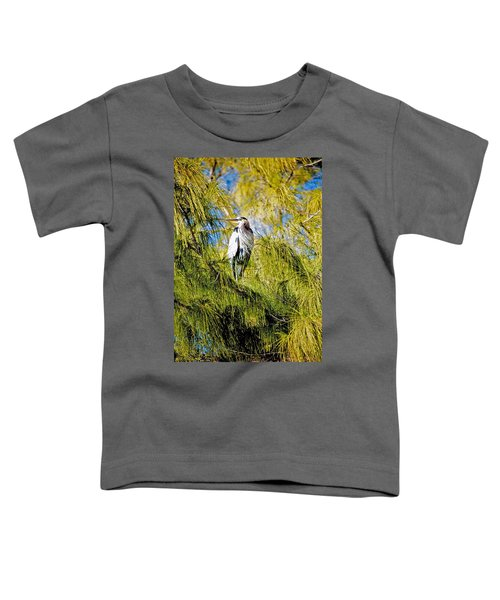 The Heron's Whiskers Toddler T-Shirt