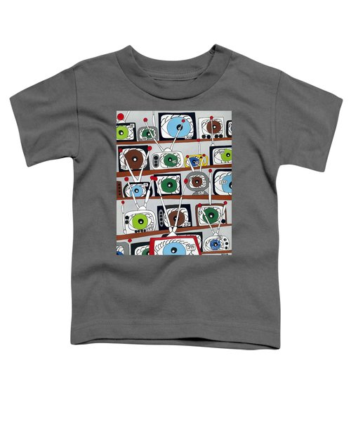 The Hungry Eye Toddler T-Shirt
