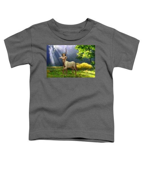 The Hunter Toddler T-Shirt by John Edwards