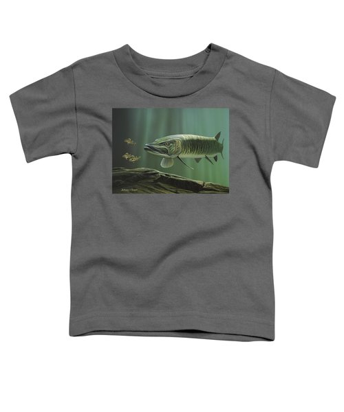 The Hunter - Musky Toddler T-Shirt