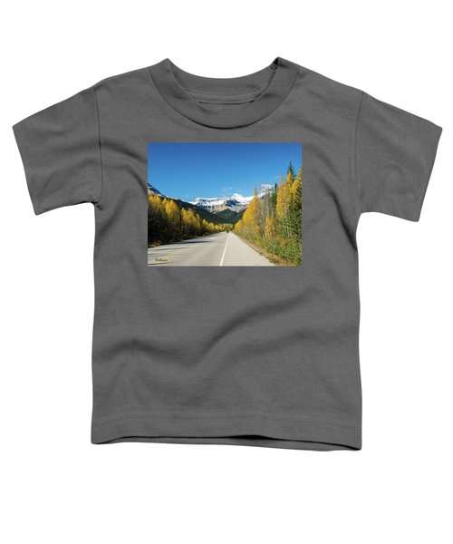 The Icefields Parkway Toddler T-Shirt