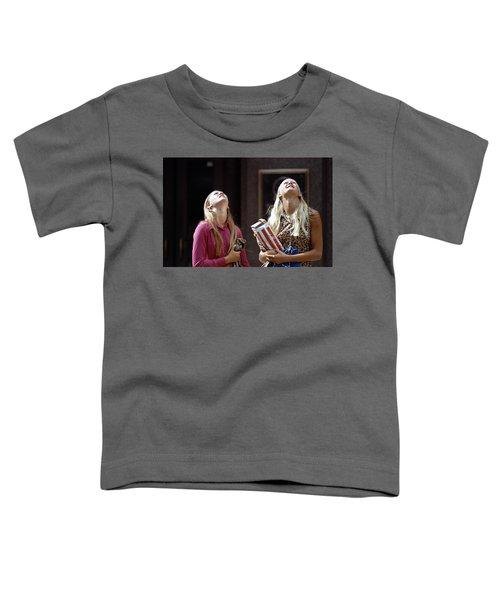 The Ids Neck Crane Toddler T-Shirt