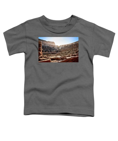 The Interior Of The Roman Coliseum Toddler T-Shirt