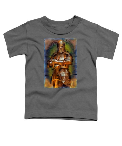 The Knight In Shining Armor Toddler T-Shirt