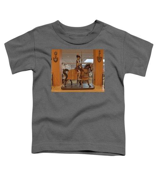 The Knight On Horseback Toddler T-Shirt