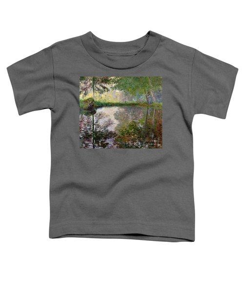 The Lake At Montgeron Toddler T-Shirt