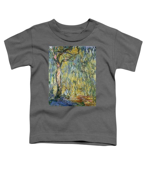 The Large Willow At Giverny Toddler T-Shirt
