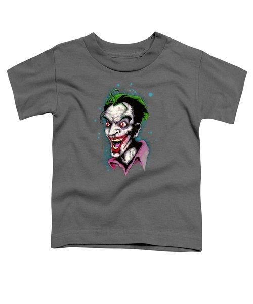 The Last Laugh Toddler T-Shirt