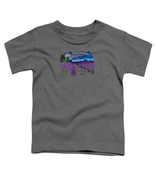 The Lavender Field Toddler T-Shirt