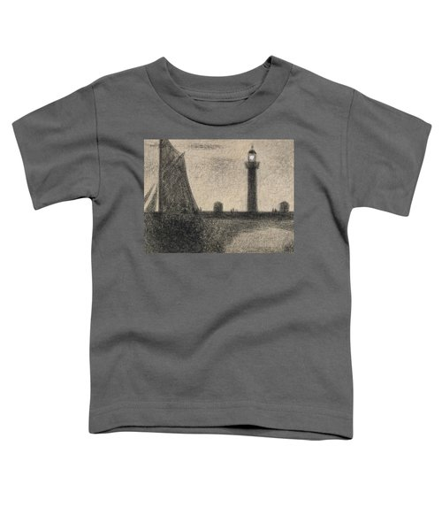 The Lighthouse At Honfleur Toddler T-Shirt