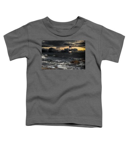 The Lighthouse Storm Toddler T-Shirt