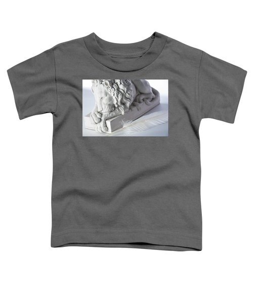 The Lion And The Feather Toddler T-Shirt
