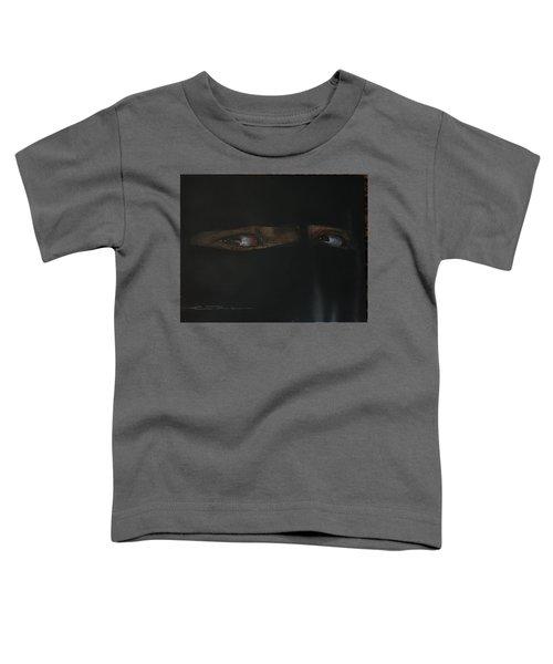 The Lovely Bride Hyphemas Portrait Toddler T-Shirt