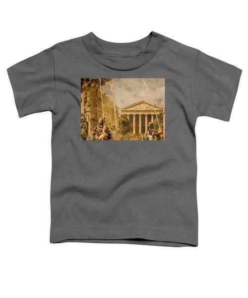 Paris, France - The Madeleine Toddler T-Shirt