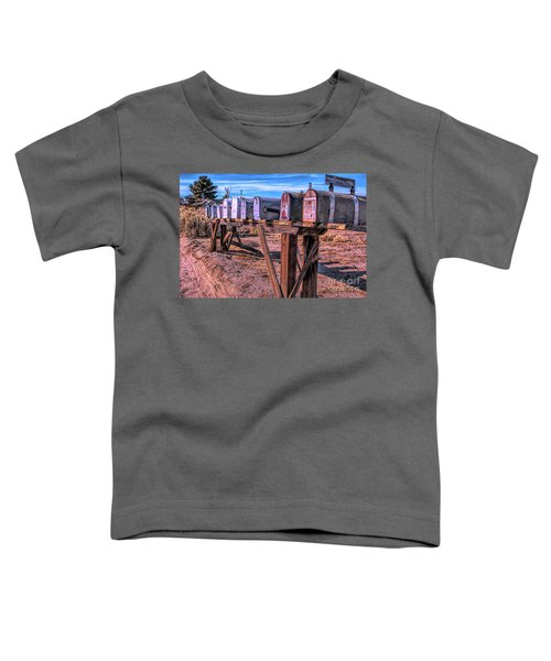 The Mailboxes Toddler T-Shirt