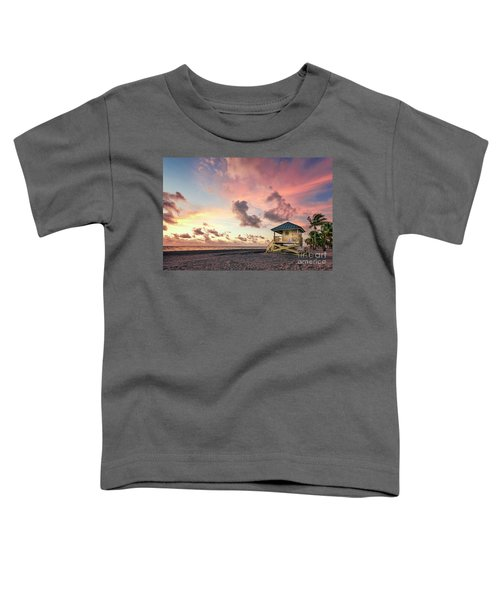 The Majesty Of Sunrise Toddler T-Shirt