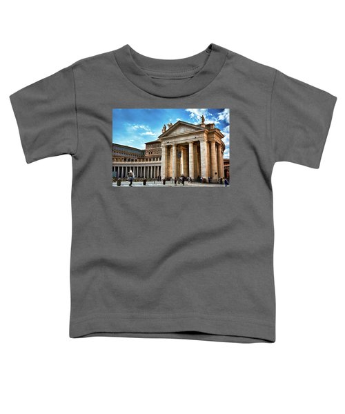 The Majesty Of The Tuscan Colonnades Toddler T-Shirt