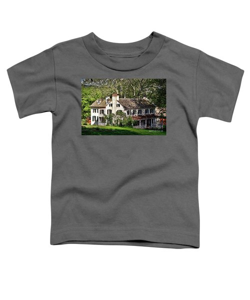 The Mansion At Hopewell Furnace Toddler T-Shirt