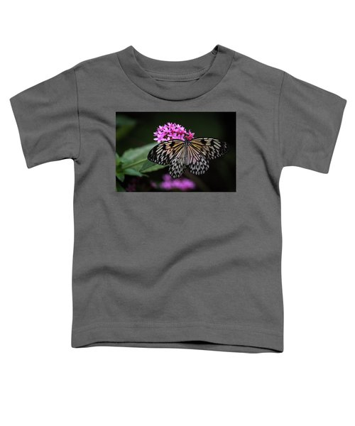 The Master Calls A Butterfly Toddler T-Shirt
