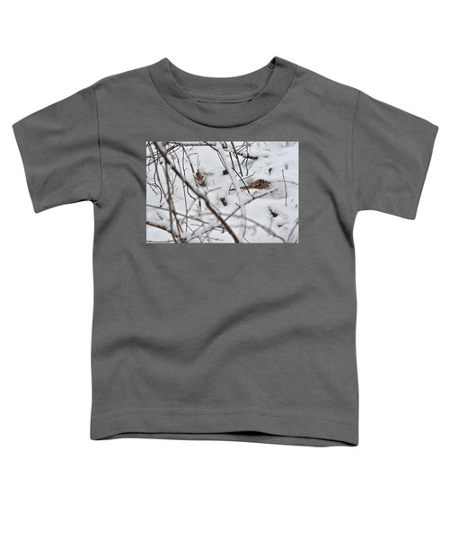 The Maternal Instinct Of The American Woodcock Toddler T-Shirt