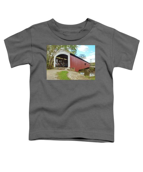 The Mecca Covered Bridge Toddler T-Shirt
