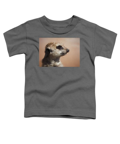 The Meerkat Da Toddler T-Shirt by Ernie Echols