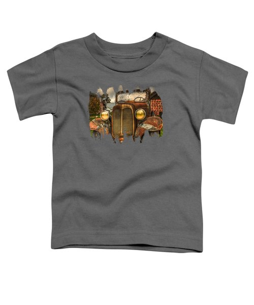 Not Old Just A Little Rusty Toddler T-Shirt