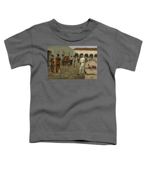 The Mier Expedition The Drawing Of The Black Bean  Toddler T-Shirt