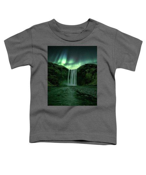 The Mighty Skogafoss Toddler T-Shirt