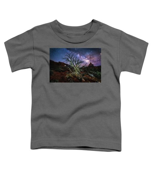 The Milky Way Tree Toddler T-Shirt