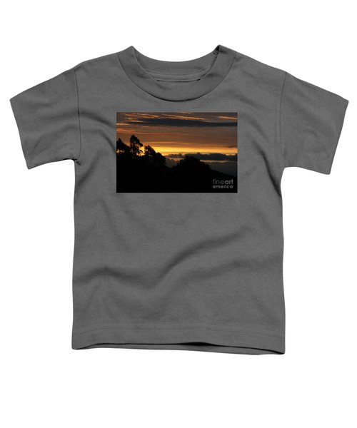 The Mountain At Sunrise Toddler T-Shirt