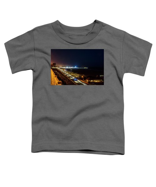 The New California Incline - Night Toddler T-Shirt